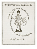 American Bill of Credit  1775  Illustration from 'Cassell's Illustrated History of England'