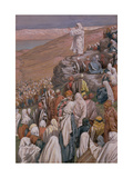 The Sermon on the Mount  Illustration for 'The Life of Christ'  C1886-96