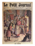 Making Pancakes  Illustration from &#39;Le Petit Journal&#39;  26th February 1911