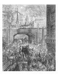 Ludgate Hill  from 'London  a Pilgrimage'  Written by William Blanchard Jerrold