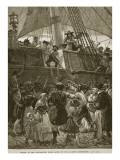 Scene at the Departure from Leith of the Darien Expedition