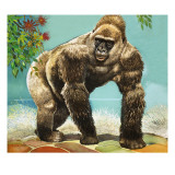 Guy the Gorilla  Illustration from &#39;Who&#39;s in the Zoo&#39;