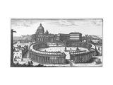 Bernini's Original Plan for St Peter's Square  Rome