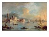 San Giorgio Maggiore  Venice  with the Giudecca and Zitelle