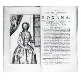 Frontispiece to 'Roxana  the Fortunate Mistress' by Daniel Defoe  Edition Published in 1765