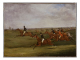 The Grand Leicestershire Steeplechase  March 12Th  1829: Going the Pace