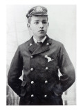 Ernest Shackleton  Aged 16  Wearing His White Star Line Uniform  1890