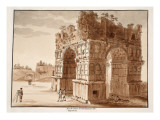 The Arch of Janus: Excavation of the Forum Boarium  1833
