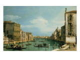 The Grand Canal Venice Looking East from the Campo Di San Vio