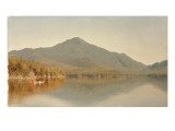 Mount Whiteface from Lake Placid  in the Adirondacks  1863