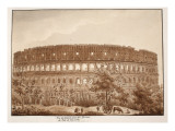 View of the Colosseum from the Baths of Titus  in the Year 1788  1833