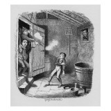 The Burglary  from 'The Adventures of Oliver Twist' by Charles Dickens