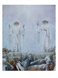 The Ascension  Illustration for 'The Life of Christ'  C1884-96