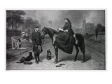 Queen Victoria at Osborne  after the Painting of 1865