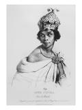 Ann Zingha  Queen of Matamba  Printed by Fancois Le Villain  C1830