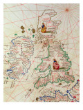 The Kingdoms of England and Scotland  from an Atlas of the World in 33 Maps  Venice
