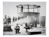 Crew of the Uss 'Monitor' Cooking on Deck on the James River  Virginia  9th July 1862