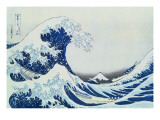 The Great Wave of Kanagawa  from the Series &#39;36 Views of MtFuji&#39;