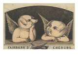 Fairbank&#39;s Cherubs&#39;  Advertisement for Fairbank Lard  C1880