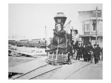 The Funeral Train Carrying President Lincoln's