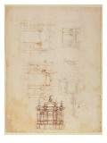 Studies for Architectural Composition in the Form of a Triumphal Arch  C1516