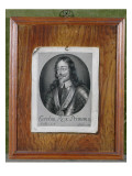 Trompe L&#39;Oeil Still Life of a Print of Charles I