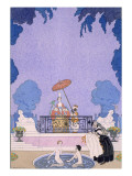 Illustration from a Book of Fairy Tales  1920S