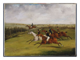 The Grand Leicestershire Steeplechase  March 12Th  1829: the Field Becomes Select