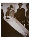 Jesse James in His Coffin after Being Shot Dead in 1882