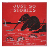 Front Cover from &#39;Just So Stories for Little Children&#39; by Rudyard Kipling  1951