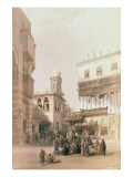 "Bazaar of the Coppersmiths  Cairo  from ""Egypt and Nubia""  Vol3"