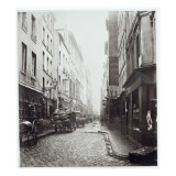 Rue De La Grande Truanderie  from the Rue Montorgueil  Paris  1858-78