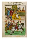 Sigismund at the Council of Constance  from 'Chronik Des Konzils Von Konstanz'