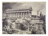 Temple of Diana at Ephesus from a Series of the 'seven Wonders of the Ancient World'  1886