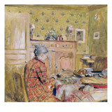 The Artist's Mother Taking Breakfast  1899-1904