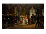 Napoleon Receiving the Senators and Declaring Himself Emperor  18th May 1804