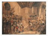 A Roundhead Conventicle: a Scene from &#39;Peveril of the Peak&#39; by Sir Walter Scott  1841