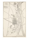 Plan of Cawnpore 1857  from 'Cassell's Illustrated History of England'