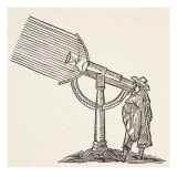 Dioptric Telescope  Copy of an Engraving by Boris Mestchersky