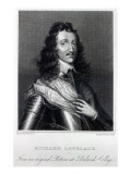 Richard Lovelace  Drawn by W Green and Engraved by Charles Pye