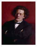 Portrait of Anton Grigoryevich Rubinstein  1881