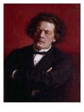Portrait of Anton Grigoryevich Rubinstein  1881