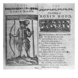 Frontispiece and Opening Lines to &#39;The History of Robin Hood&#39;
