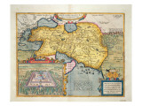 The Expedition of Alexander the Great  from the 'Theatrum Orbis Terrarum'  1603