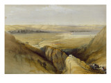 Jordan Valley  from Volume Ii of &#39;The Holy Land&#39; by Louis Haghe