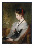 Portrait of Lady Elizabeth Wells  Later Lady Dyke  1831