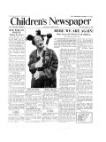 Coco the Clown  Front Page of 'The Children's Newspaper'  January 1954