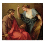 Egeria Handing Numa Pompilius His Shield  1794
