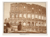 Restoration of the Colosseum from the Side of St John Lateran  1833