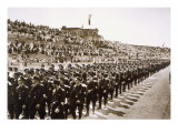 Parade of Newly Formed Ss in the Deutsches Stade  Nuremberg  11th-13th August  1933